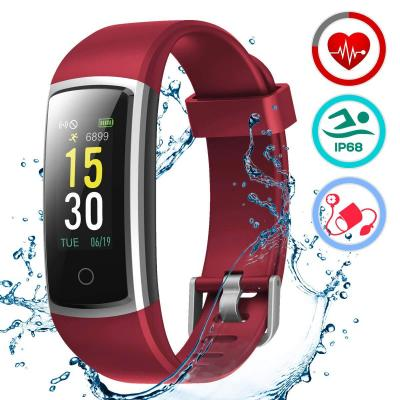 LATEC Orologio Fitness Tracker Android iOS Cardiofrequenzimetro Monitor