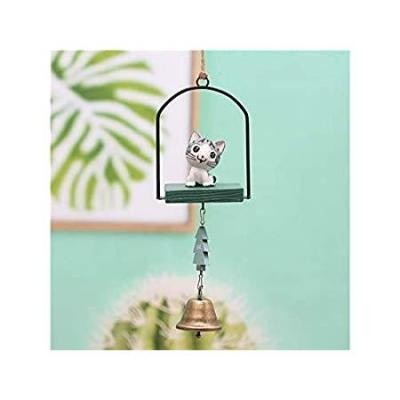 NANIH Home Wind Chime Cute Cat Shape Wind Chime Sun Catcher Window Wall Hanging Decorazione