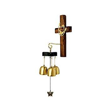 NANIH Home Wind Chime Cross Shape Great Sound Campane Campanelli eolici